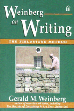 Book Cover Image - Weinberg On Writing